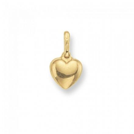 Yellow Gold Pendants -Heart Small, PN267